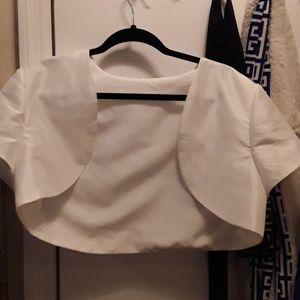 Dresses - Ivory bolero shrug